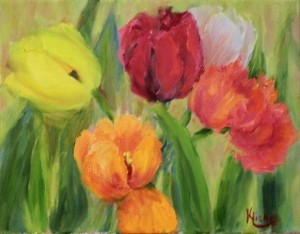 Spring in the Garden, Tulip Demo